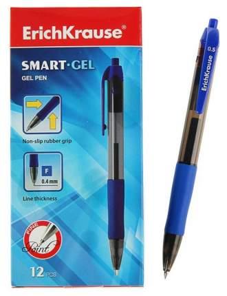 Гелевая ручка автоматическая Smart-Gel Синяя, ErichKrause