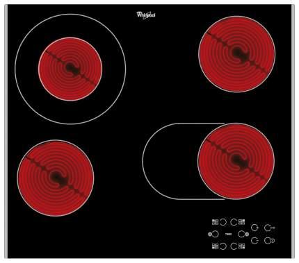 Встраиваемая варочная панель электрическая Whirlpool AKT 8210 LX Black