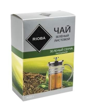 Чай зеленый Rioba сенча рассыпной листовой крупный 400 г