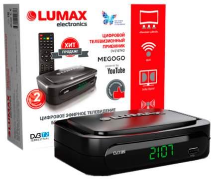 DVB-T2 приставка Lumax DV-2107HD Black