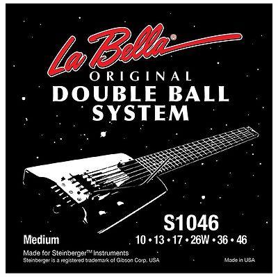Струны для электрогитары Headless LA BELLA S946