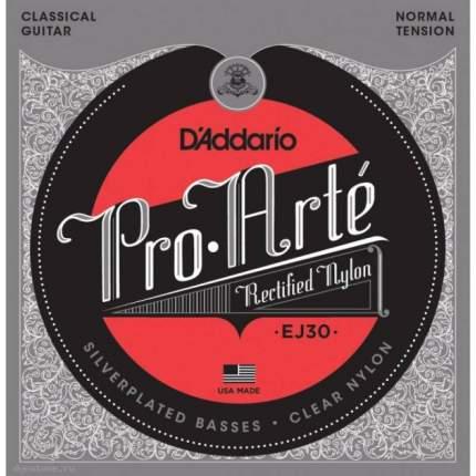 Струны для классической гитары D ADDARIO EJ30