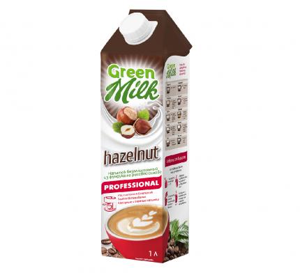 Напиток Green Milk Professional Hazelnut из растительного сырья на рисовой основе 1 л