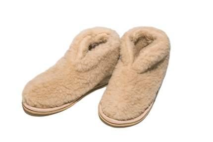 Домашние тапочки женские Smart-Textile Бабуши бежевые 36-37 RU