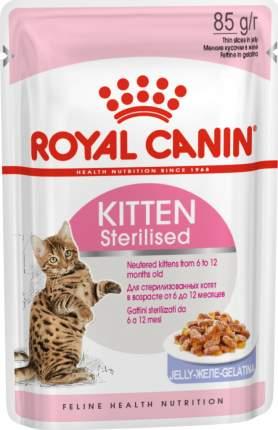 Влажный корм для котят ROYAL CANIN Kitten, мясо, 12шт, 85г