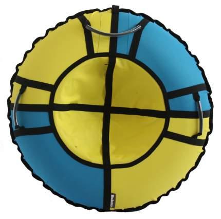 Тюбинг Hubster Хайп желтый-бирюзовый 120 см