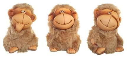 Новогодняя керамическая фигурка Snowmen обезьянка 9 см Е96140