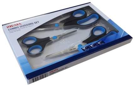 Набор ножниц Sigma 139мм-200мм-246мм с мягкой ручкой