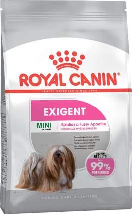 Сухой корм для собак ROYAL CANIN Mini Exigent, для мелких пород, привередливых, птица, 3кг
