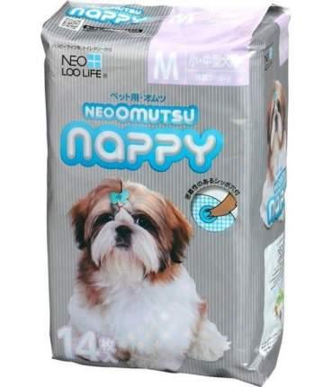 Подгузники для домашних животных Neo loo life Neoomutsu, размер S (3-6 кг), 12 штук