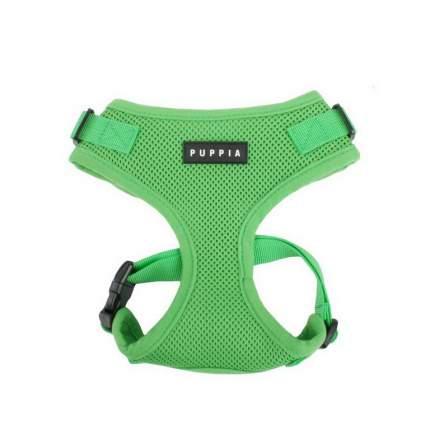 Шлейка для животных Puppia RITEFIT, зеленая, S, обхват груди 28-38см, обхват шеи 24-29см
