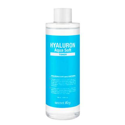 Тонер для лица Secret Key Hyaluron Aqua Soft Toner 500 мл