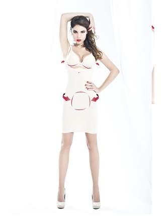 Платье женское Andra Shape белое S