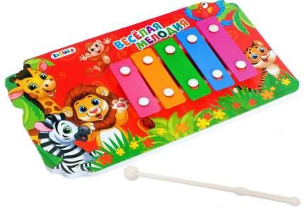Металлофон игрушечный Забияка Весёлая мелодия