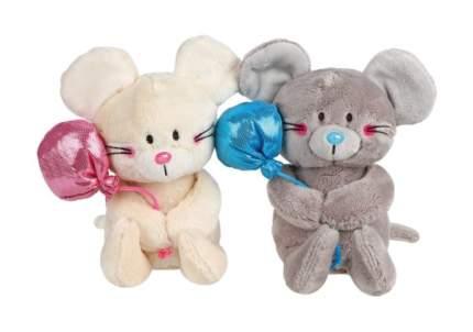 Мягкая игрушка животное Fluffy Family Мышонок Мики с шариками 681594