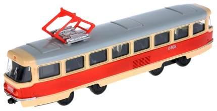 Трамвай PLAYSMART металлический инерционный