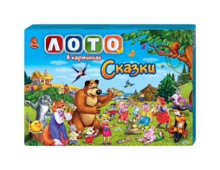 "Детское лото в картинках ""Сказки 2"" Данко Тойс / Danko Toys"