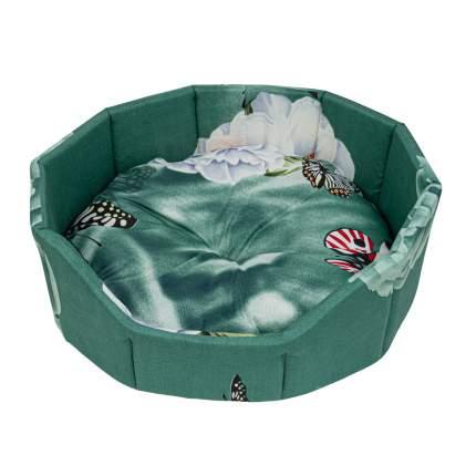 Лежак для собак и кошек Xody Бочка Эконом №1, цвета в ассортименте, 42х42х16 см