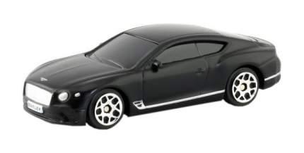 Машина металлическая RMZ City 1:64 The Bentley Continental GT 2018 (цвет черный матовый)