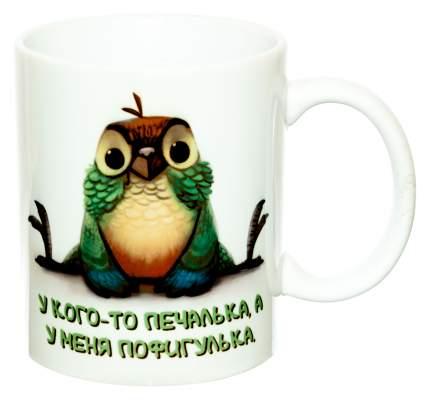 Керамическая кружка 3Dollara Попугайчик MUG0310