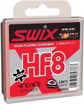 Мазь скольжения Swix HF8X Red +4C/-4C 40 мл