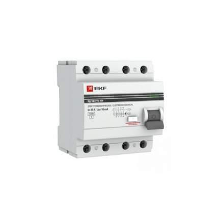 Устройство защитного отключения EKF elcb-4-40-30-em-a-pro