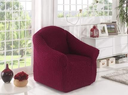 """Чехол для кресла KARNA Чехол для кресла """"Стамбул"""" без юбки Бордовый"""