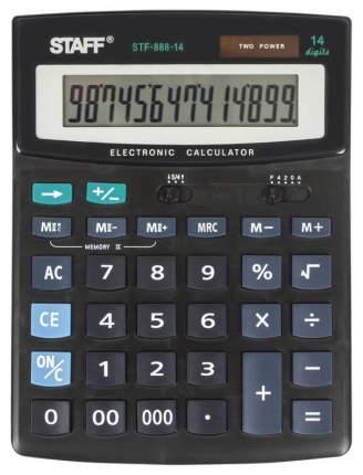 Калькулятор Staff STF-888-14, 14 разрядов, двойное питание, 200х150 мм