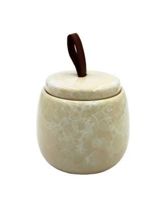 Баночка для ватных дисков BATH PLUS PIETRA, beige