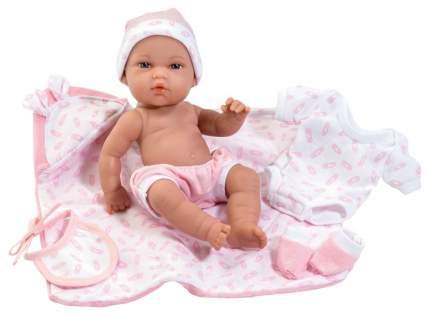 Пупс Munecas Arias Elegance в одежде розовых тонов, 33 см, Т16346
