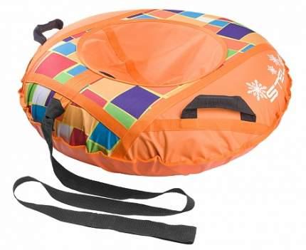 Санки надувные 90 см без камеры СН030 оранжевый