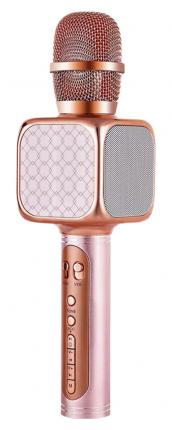 Беспроводной караоке-микрофон YS-05 Rose Gold