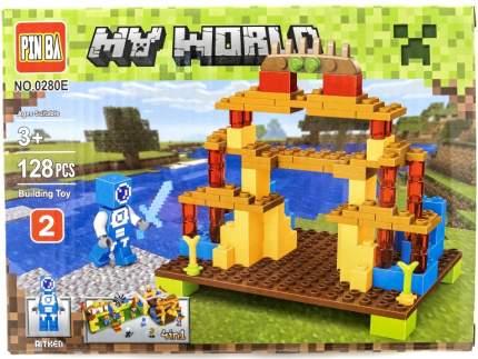 Конструктор Minecraft CoolToys Лагерь 128 деталей