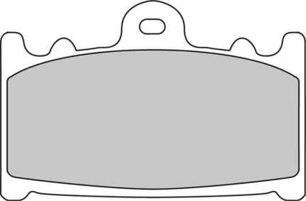 Тормозные колодки передние Ferodo FDB574P для мотоциклов