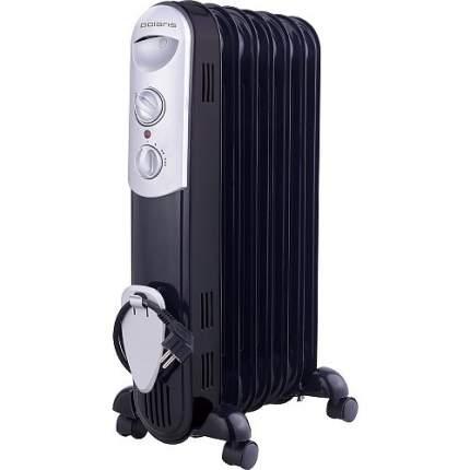 Масляный радиатор Polaris PRE C 0715 Wave черный