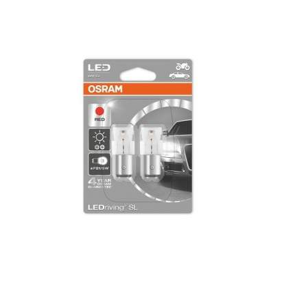 Pr21/5w 12v (1,7w) Лампа Ledriving Standard Красный, Двойной Блистер OSRAM арт. 1458R-02B