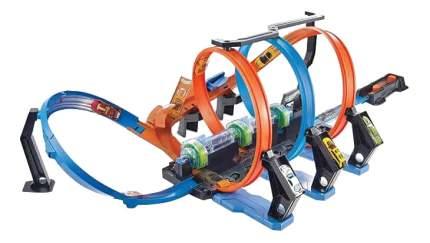 Автотрек Hot Wheels Mattel игровой набор Винтовое столкновение