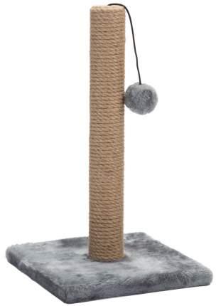 Когтеточка-столбик для кошек Beeztees Kali, серая (25х25х42 см)