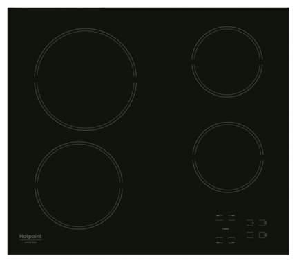 Встраиваемая варочная панель электрическая Hotpoint-Ariston HR 631 C Black
