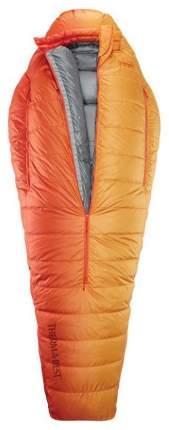 Спальный мешок Therm-A-Rest Polar Ranger Regular оранжевый, левый
