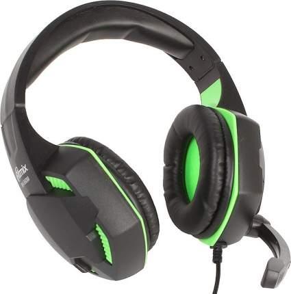 Игровые наушники Ritmix RH RH-560M Green/Black