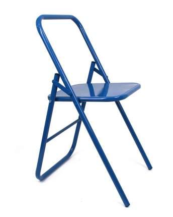 Стул для занятий йогой RamaYoga разной высоты синий