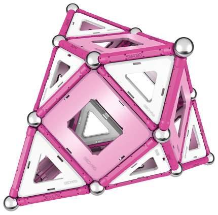 Конструктор магнитный GEOMAG Pink 344