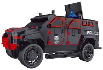 Джип Полиция Р/У На Аккумуляторе со светом 666-710A