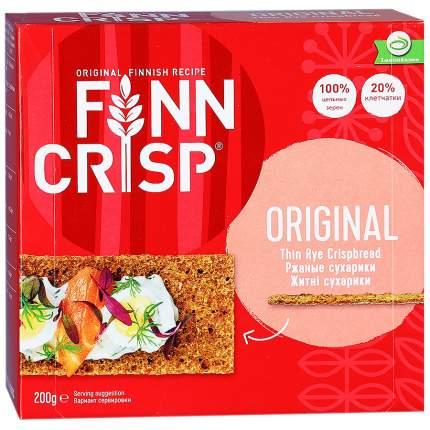 Сухарики Finn Crisp ржаные 200 г