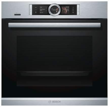 Встраиваемый электрический духовой шкаф Bosch HRG636XS6 Silver/Black