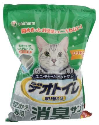 Впитывающий наполнитель для кошек UNICHARM силикагелевый, 3 кг, 4 л