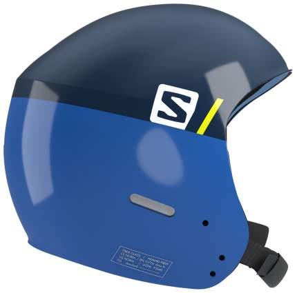 Горнолыжный шлем детский Salomon S Race Jr 2018, синий, M