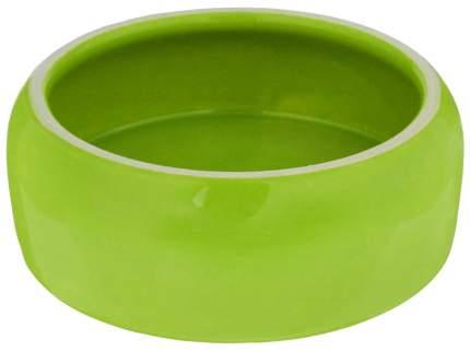 Одинарная миска для кошек и собак Nobby, керамика, зеленый, 0.125 л