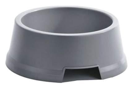 Одинарная миска для собак IMAC, пластик, серый, 3.6 л